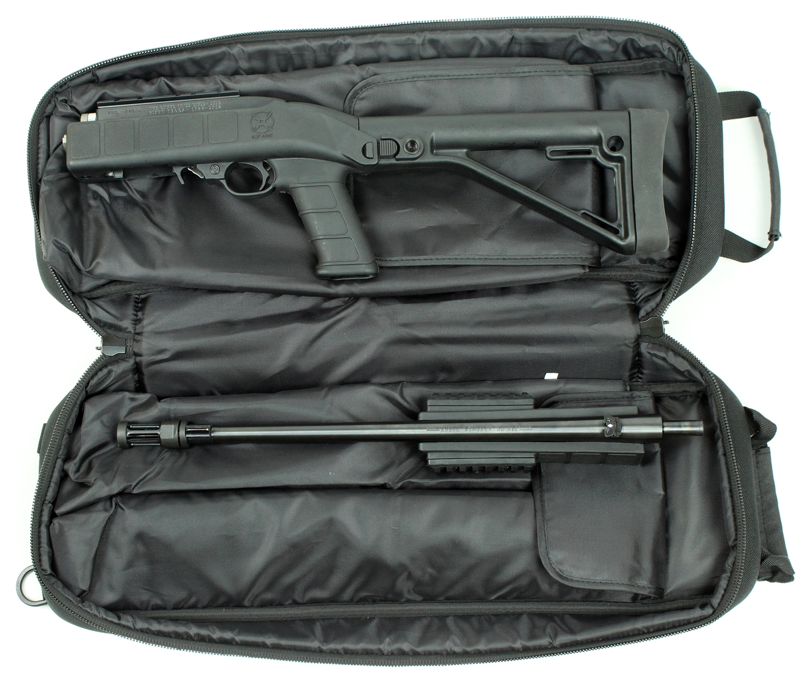 ruger 10 22 tactical take down with agp arms stock kit